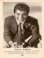 Paul Anka Childhood Pictures