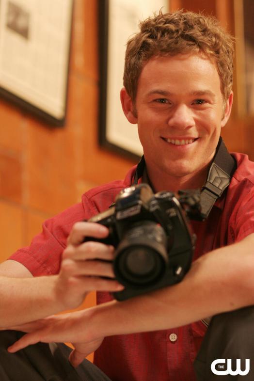Aaron Ashmore Doing Photography