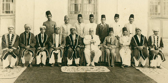 Old Photo of Sir Sultan Muhammad Shah