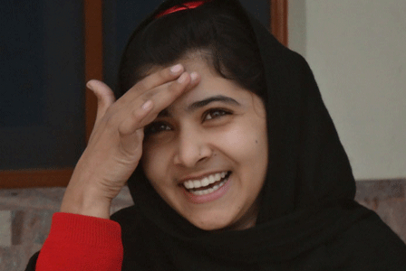 Malala Yousafzai Smiling Picture