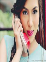Julia Montes while calling