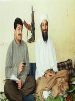 Osama bin Laden with TV Reporter