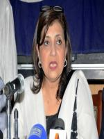 Fauzia Wahab press conference