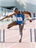 Samuel Matete during racing