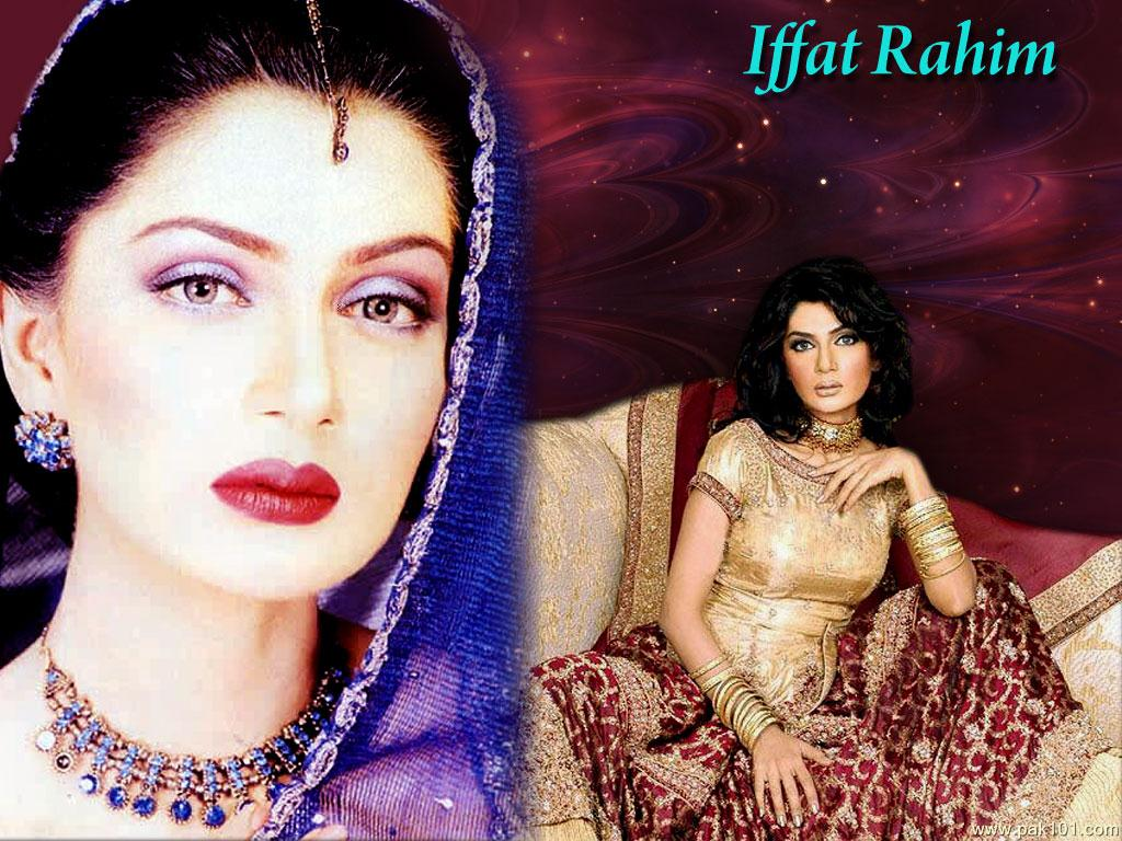 Iffat Rahim Pakistani Female Model