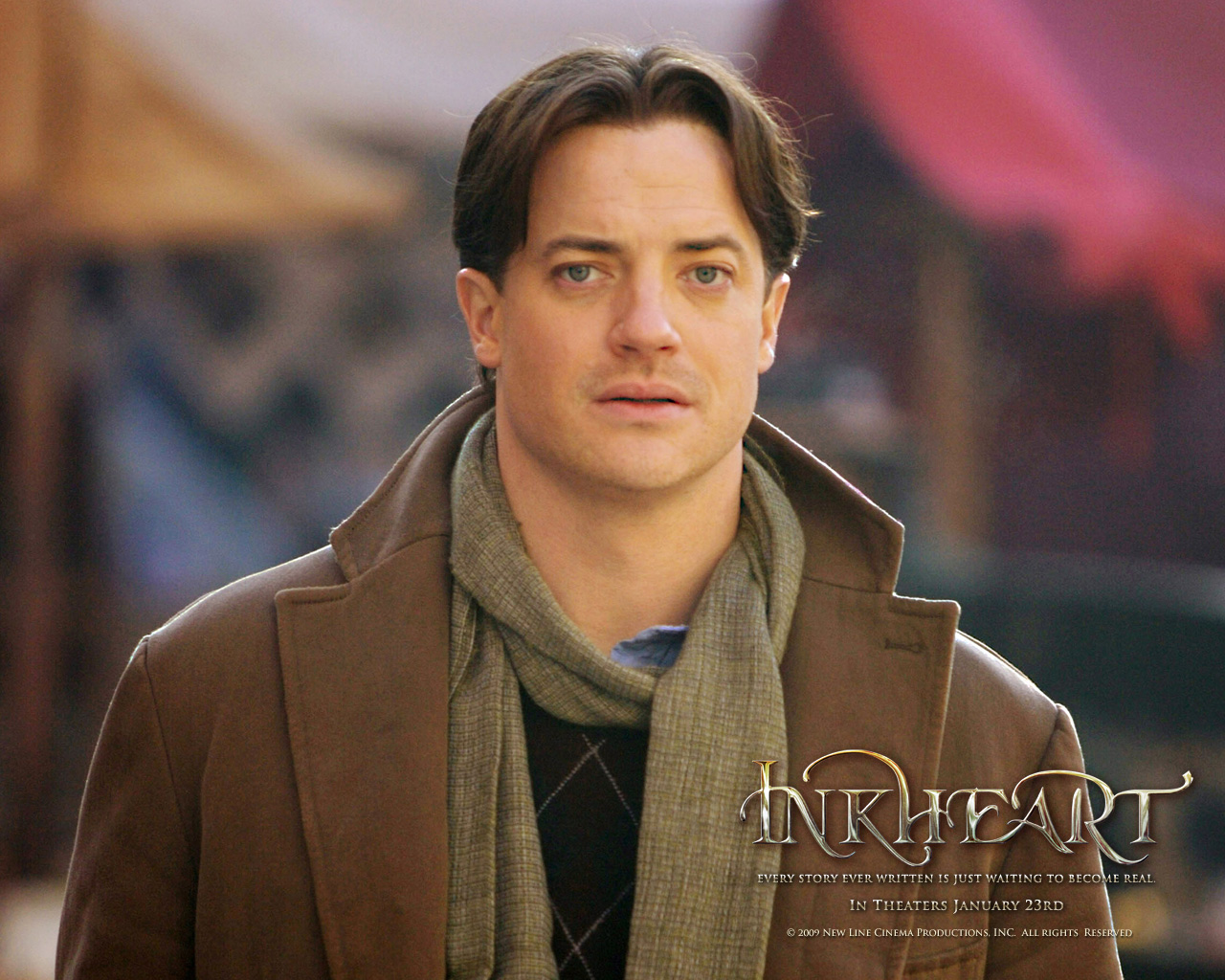 Brendan Fraser in The Nut Job 2014