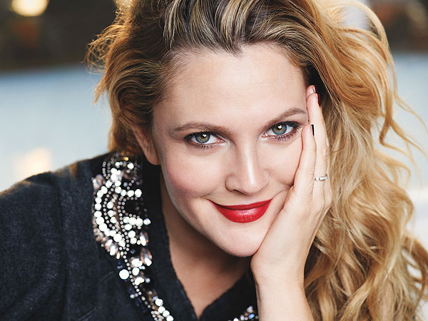 Drew Barrymore smiling picture