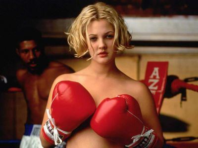 Drew Barrymore action in movie