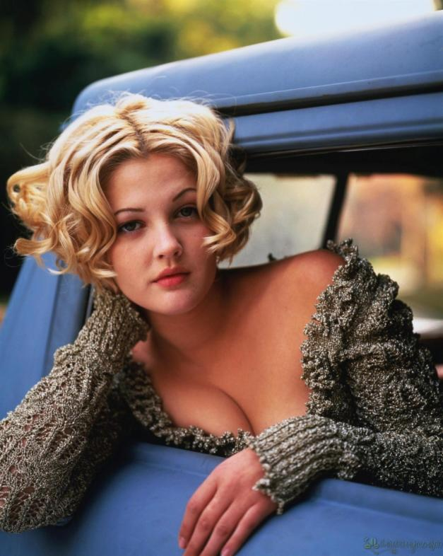 Drew Barrymore movie shooting