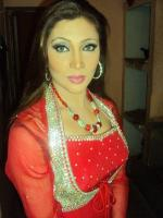 Khushboo in Red Dress