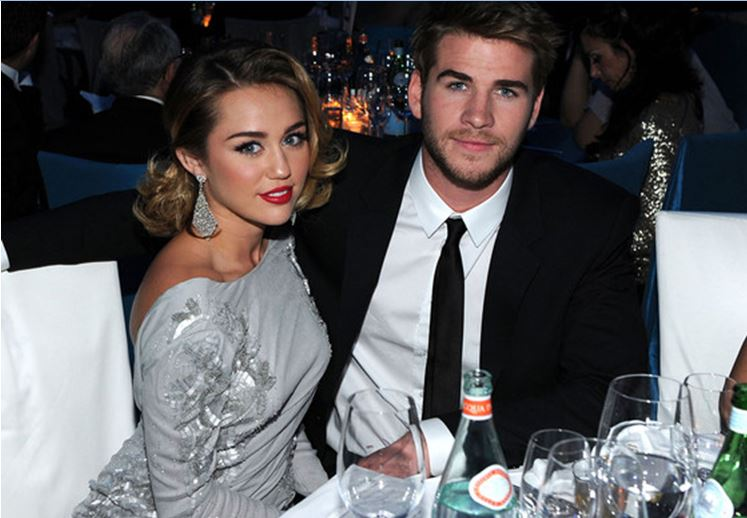 Miley with Liam