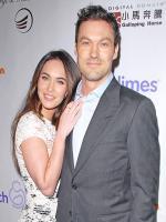Megan Fox with husband