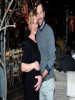 Katherine Heigl with her husband