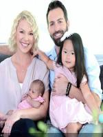 Katherine Heigl happy family