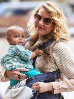 Katherine Heigl with baby