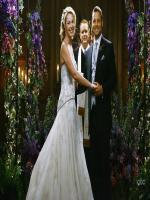 Katherine Heigl at wedding stage