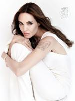 Angelina Jolie In White Dress