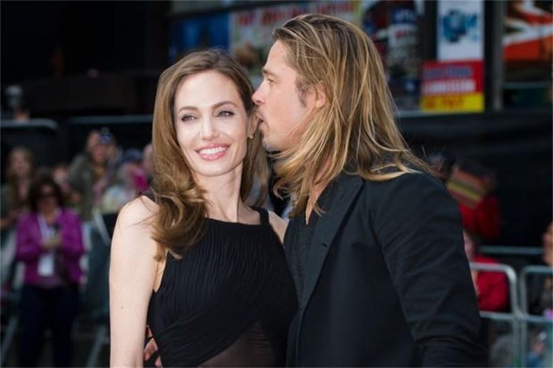 Angelina Jolie and Brat Pitt