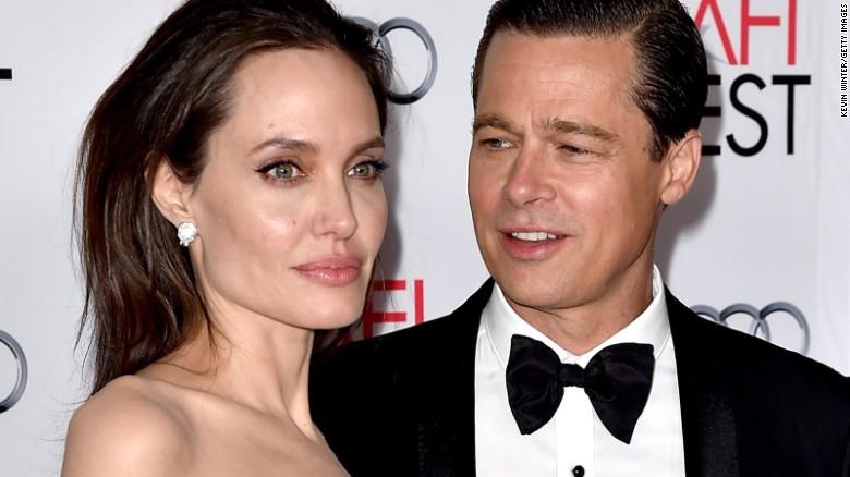 Angelina Jolie Broke Mariage from Brad Pitt