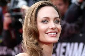 Angelina Jolie smily face