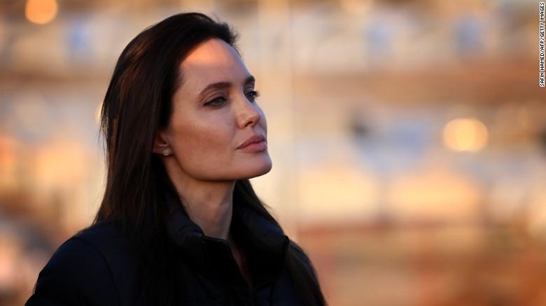 Angelina Jolie after Divorce
