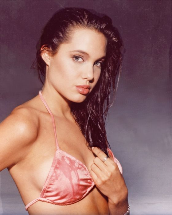 Angelina Jolie young picture