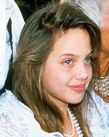 Angelina Jolie Childhood picture