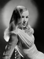 Veronica Lake in Footsteps In the Snow