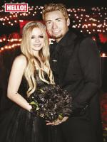 Avril Lavigne Wedding picture