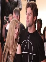 Avril Lavigne with boyfriend