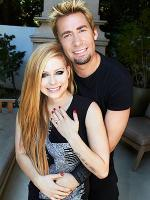 Avril Lavigne with Chad