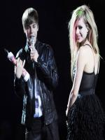 Avril Lavigne with justin