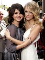 Taylor Swift with Selena