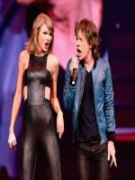 taylor swift with Mick jagger