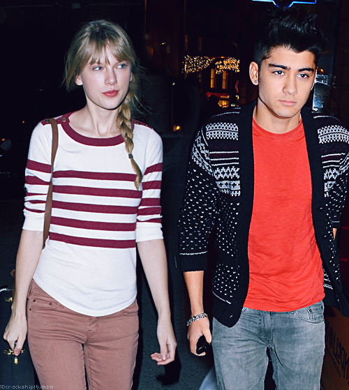 Taylor Swift with Zayan