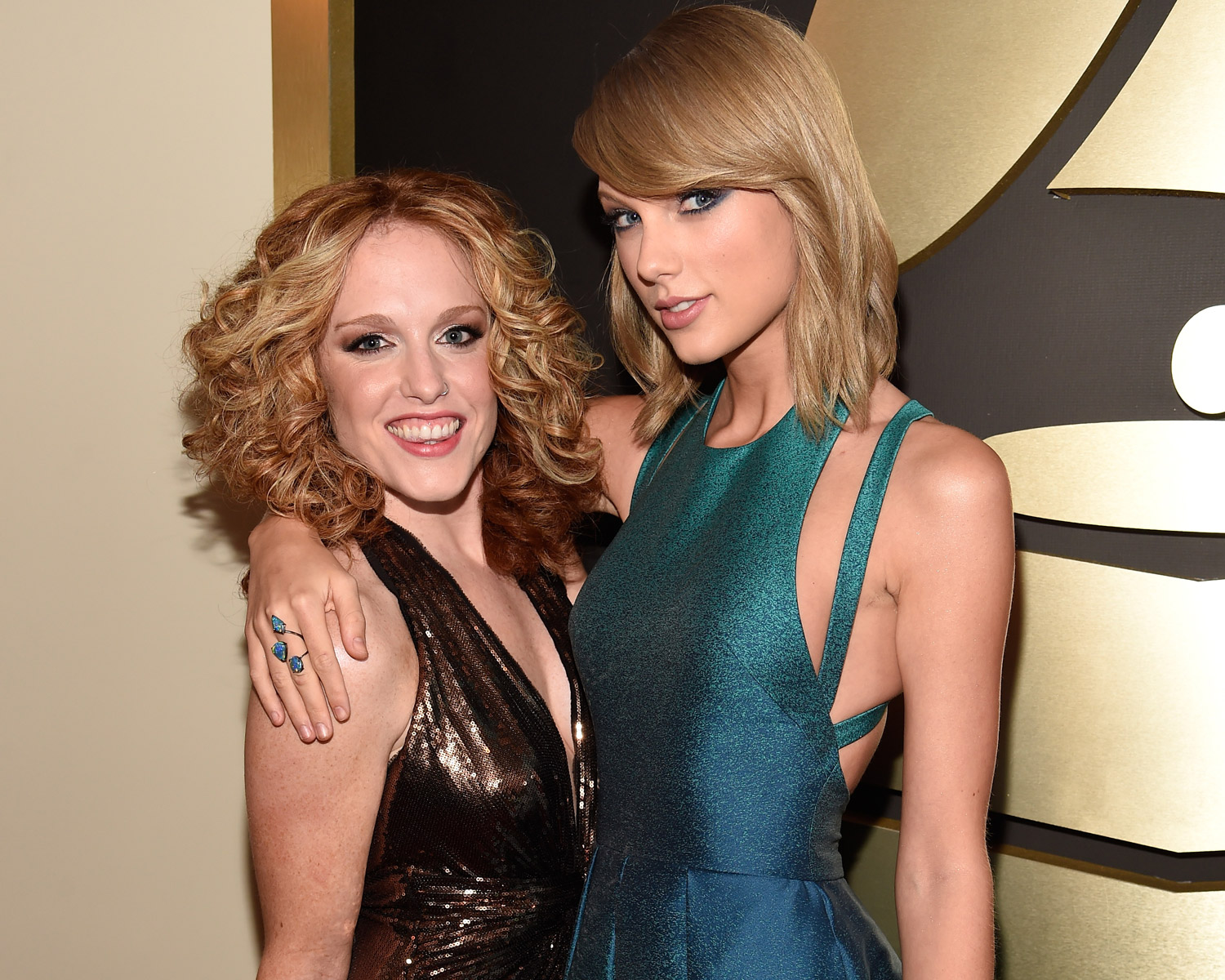 Taylor Swift  With Abigail Anderson