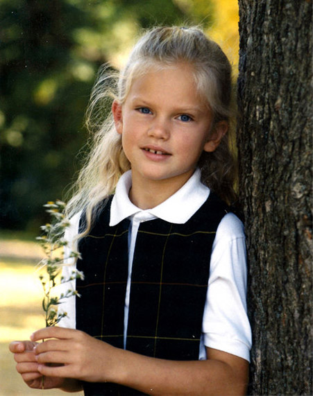 Taylor Swift Childhood picture
