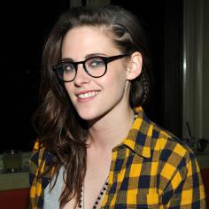 Kristen Stewart with glasses