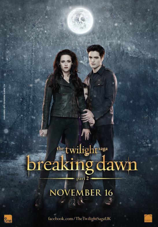 Kristen Stewart in twilight dreaking dawn