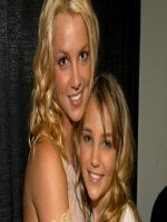 Britney Spears with here sister