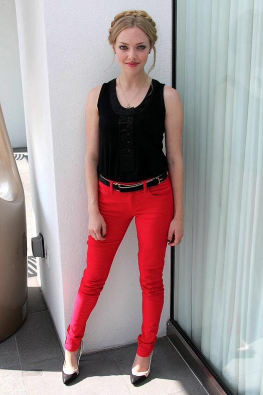 Amanda Seyfried in Red Pant