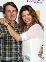 Laura San Giacomo with Hollywood Star