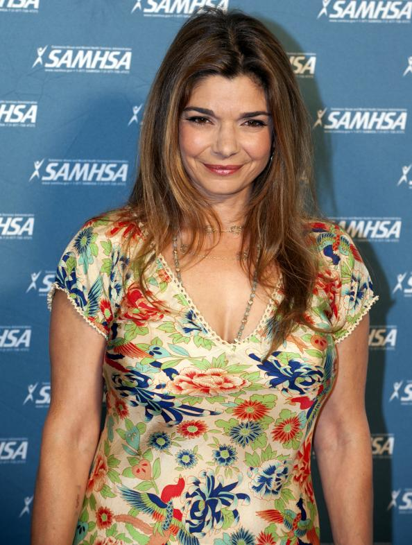 Laura San Giacomo at award ceremony