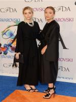 Ashley and Mary-Kate Olsen in CFDA Awards