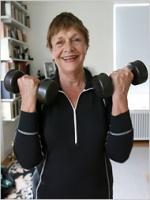 Estelle Parsons at Gym