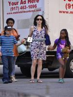 Mary Louise Parker With Her Kids