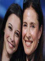 Mimi Rogers with her friend