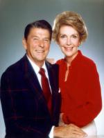 Nancy Reagan with her Husband