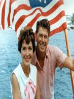Nancy Reagan at Beach