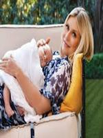 Emily Procter with Kid